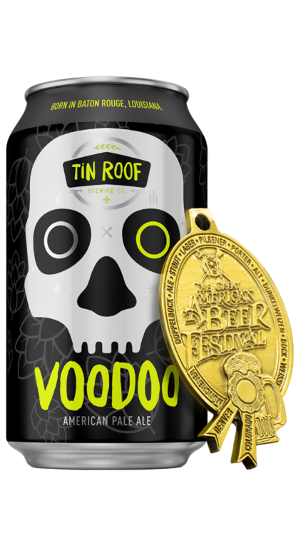Voodoo | Born in Baton Rouge | Tin Roof Brewing Co