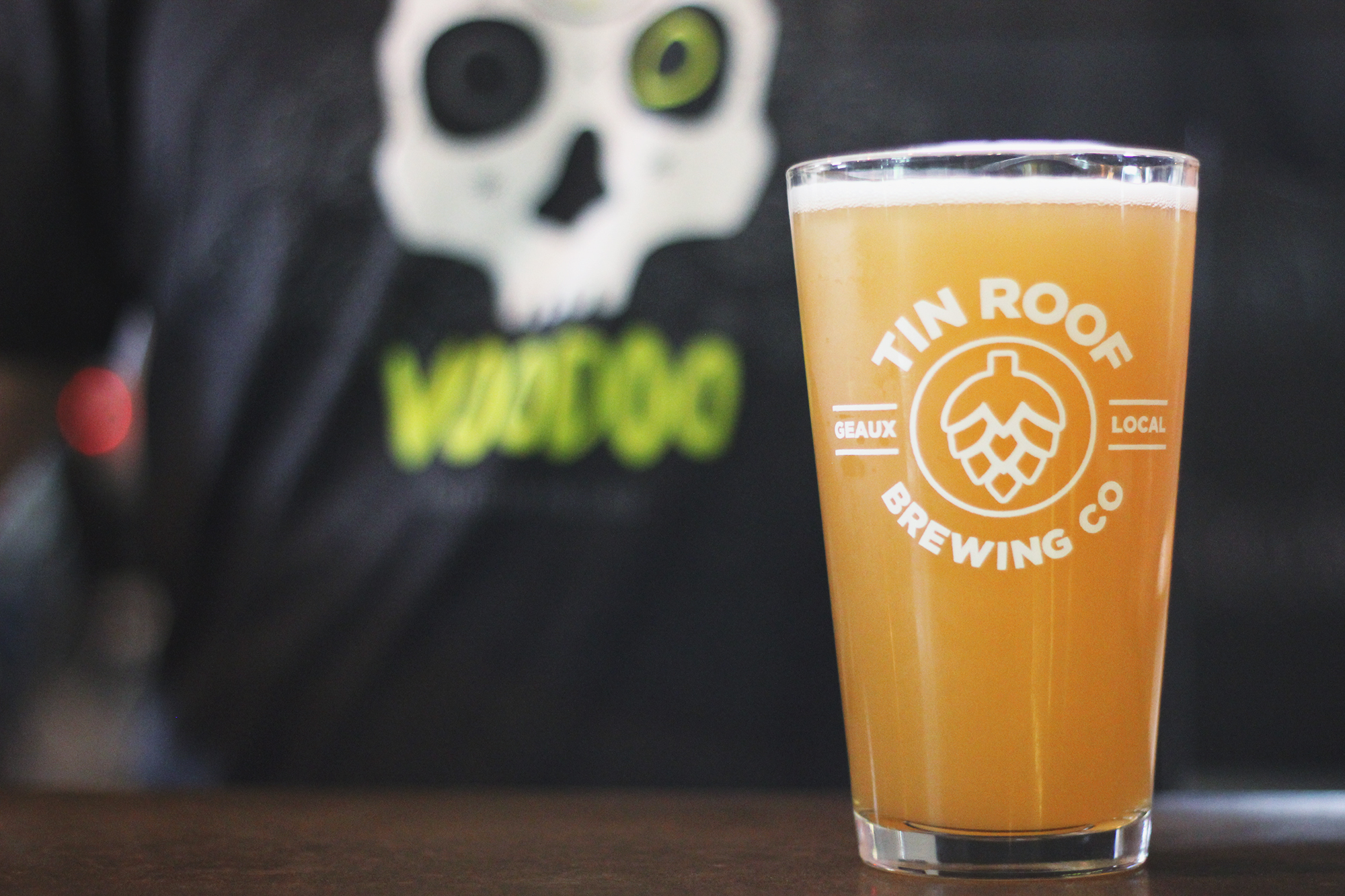 Voodoo Born In Baton Rouge Tin Roof Brewing Co